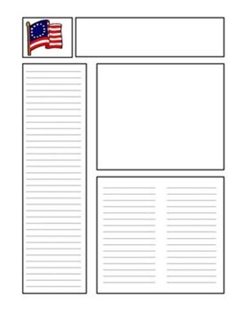 revolutionary war newspaper template revolutions american revolution and newspaper on