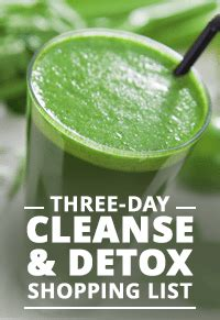 Http Skinnyms Three Day Cleanse Detox by Three Day Cleanse Detox Grocery Shopping List