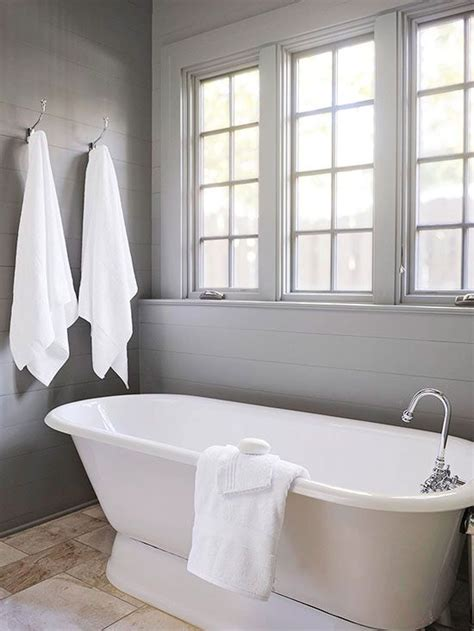 Gray Shiplap Wall Bathroom With Gray Shiplap Walls Cottage Bathroom