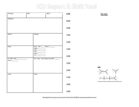 icu report template pictures to pin on pinterest pinsdaddy