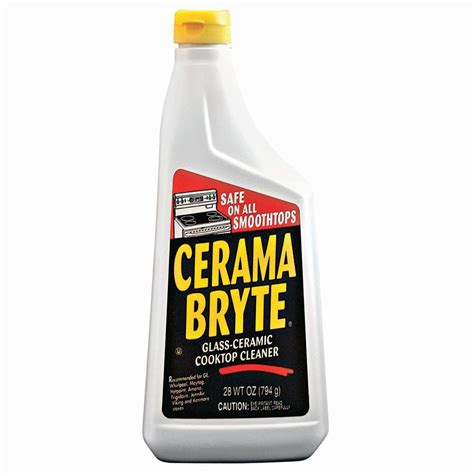 cerama bryte 28 oz glass ceramic cooktop cleaner