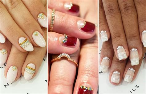 2015 nail trends for older women bridal nail trends 2015 wedding nails for uae brides