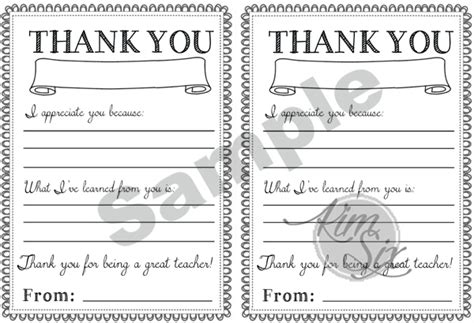 appreciation week 2017 card templates appreciation day printable thank you notes the