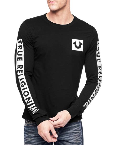 Tshirt Be True true religion picked sleeve fade mens t shirt in