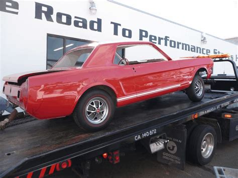 65 66 mustang parts 187 archive 187 1965 mustang gt coupe restoration part 1