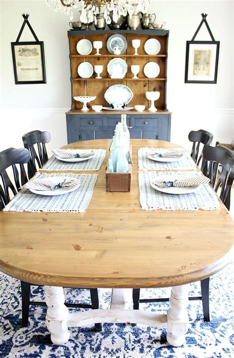 Dining Room Makeover On A Budget Farmhouse Style Table Makeover For 20 How We Did It And