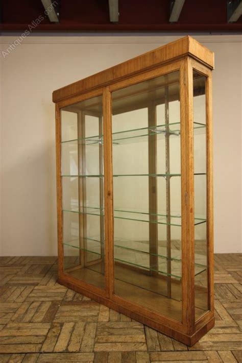 English Antique Oak Display Cabinet.   Antiques Atlas