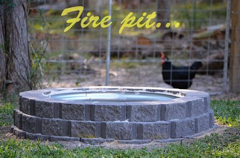 building a pit with retaining wall blocks my pit build project using retaining wall blocks