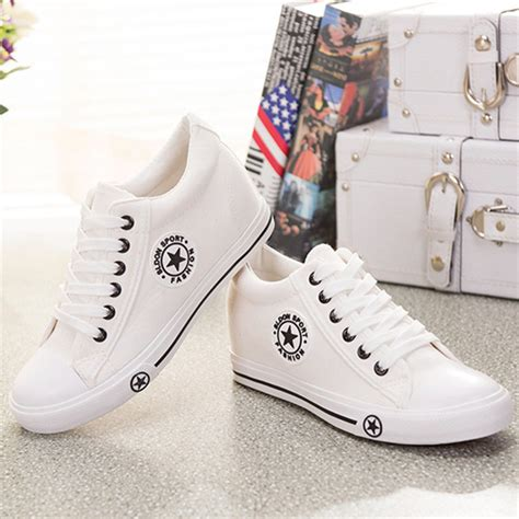 cutest sneakers summer wedges canvas shoes casual shoes