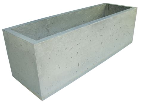 trough planter box planters concrete planters