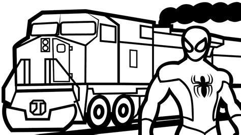 train coloring pages www pixshark com images galleries