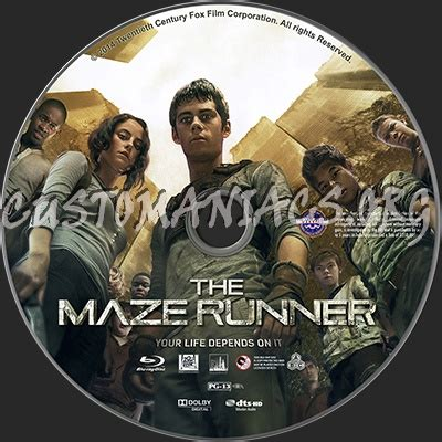 Bluray Maze Runner Part 1 2 forum custom labels page 488 dvd covers