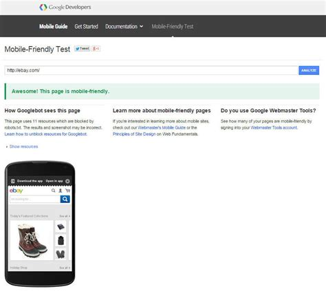 ebay site not mobile how to improve your site s mobile friendly status