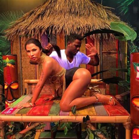 nigerian artist messes with nicki minaj's wax figure