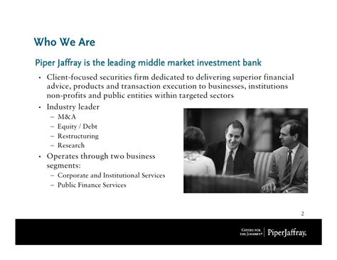 Piper Jaffray Investment Banking Associate Mba by 4 Piper Jaffray Bowdoin Presentation