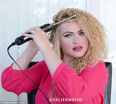 curling with a flat iron the small things blog beauty blogger creates spiral curls like beyonce s using a