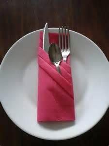 pliage serviette range couvert mod 232 le 3 cuisine et