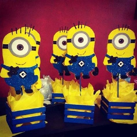 Minions Decoration by 25 Best Ideas About Minion Centerpieces On