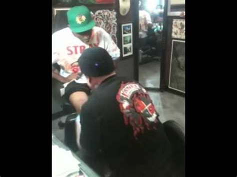 tyler the creator tattoos legendary skater eric dressen tattooing the creator