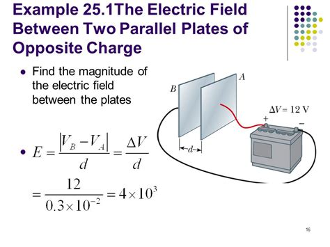 if the electric field between the plates of a given capacitor is weakened chapter 25 electric potential ppt