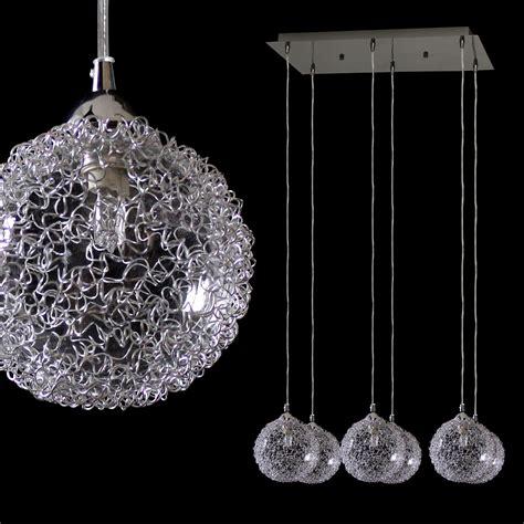 ebay lustre moderne plafonnier en cristal lustre suspensions 5 flammig