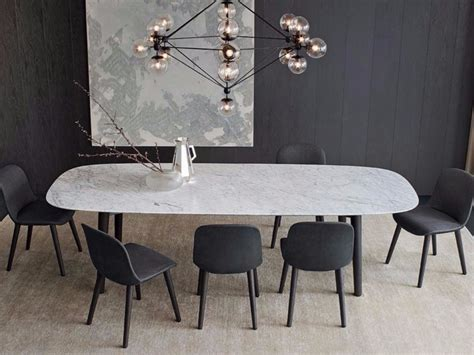 Rectangle Marble Dining Table Rectangular Marble Table Mad Dining Table Mad Collection By Poliform Design Marcel Wanders