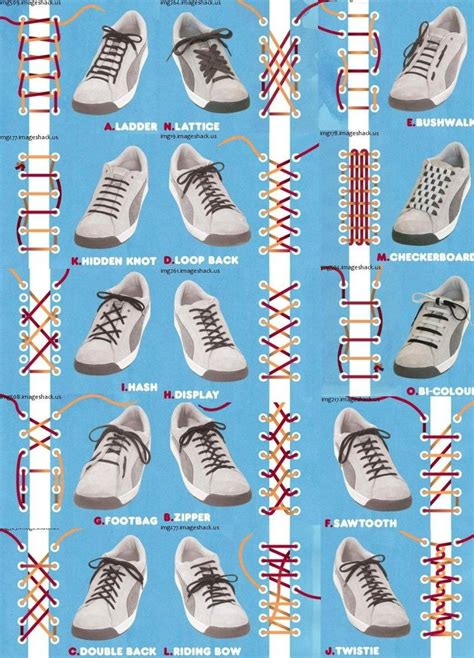 different ways to tie shoes lifehacks hack s guide to shoe laces