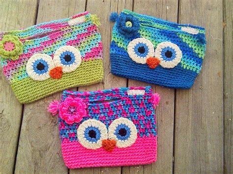 owl tote bag crochet pattern free craftdrawer crafts free crochet purse and bag patterns