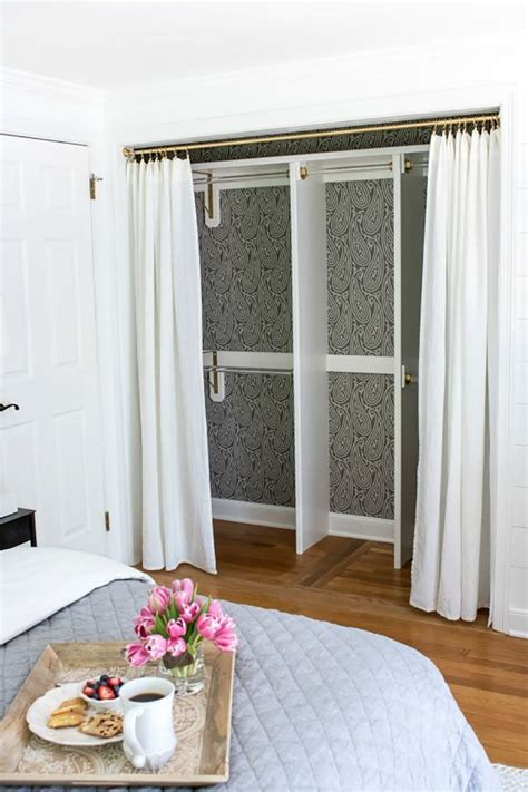 curtain closet door best 25 closet door curtains ideas on curtain