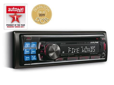 Alpine Cde 140e Like New cd receiver usb and ipod 174 controller alpine cde 123r