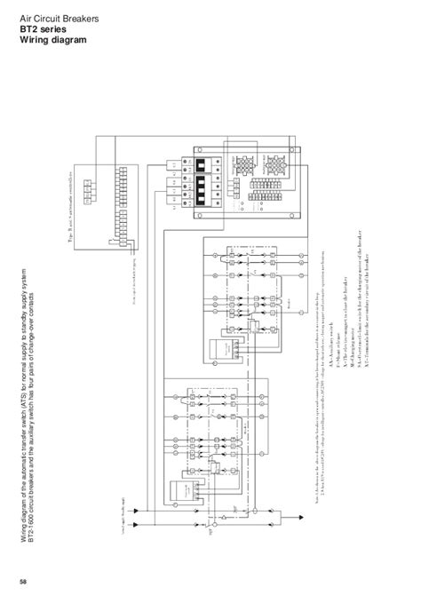wiring diagram air circuit breaker wiring diagram with