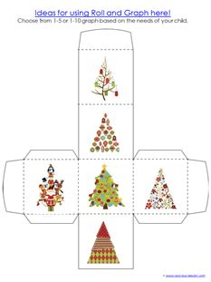 mini christmas tree printable christmas tree mini printable pack 1 1 1 1