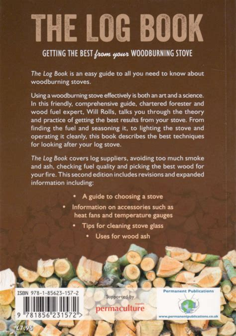 the log book getting the best from your wood burning stove by will rolls