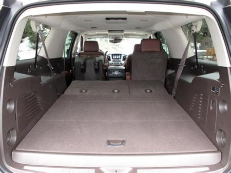 suburban third row seat legroom 2015 chevy suburban review car reviews