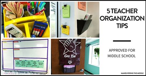 organization tips for school 5 organization tips for middle school