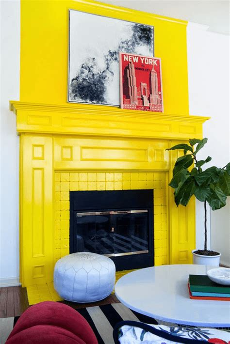 yellow fireplace pantone primrose yellow concepts and colorways