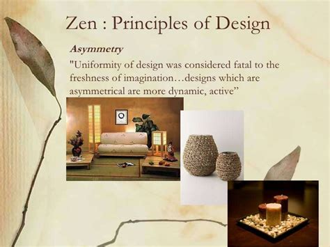 interior design zen concept zen principles of designasymmetry quot uniformity