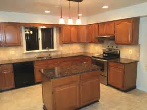 Kitchens With Granite Countertops H Green Baltic Brown Granite Kitchen Countertop Granix Marble Granite Inc