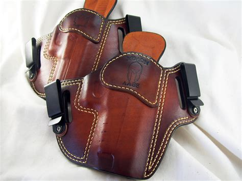 Handmade Leather Pistol Holsters - custom leather gun holsters