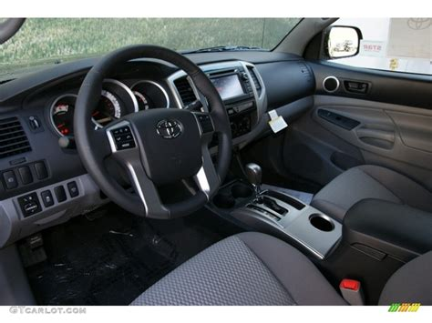 Toyota Tacoma 2013 Interior by Graphite Interior 2013 Toyota Tacoma V6 Sr5 Cab 4x4 Photo 71956147 Gtcarlot