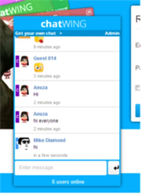 anime chat rooms report chatwing creates chat box for anime and fans
