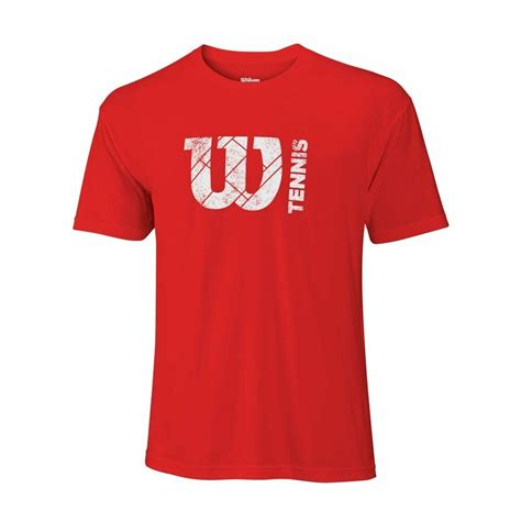 Buy Shirts Buy Wilson W Court Logo Tech Mens Tennis T Shirt