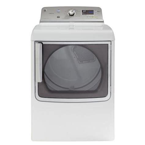 ge adora ge adora 7 8 cu ft electric dryer with steam in white