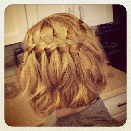 easy hairstyles braids for short hair easy braided hairstyles for short hair