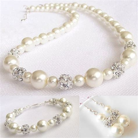 Hochzeitsschmuck Sets by Aliexpress Buy 2017 Fashion Pearl Jewelry Sets Pearl