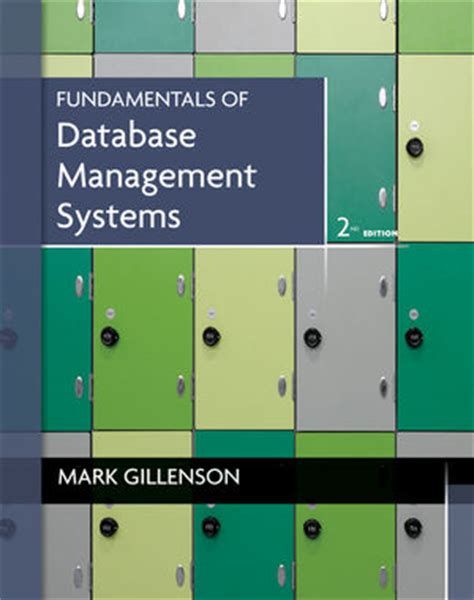 It Systems Management 2nd Edition enterprise learning solutions fundamentals of database