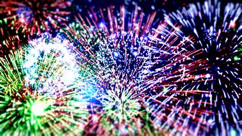 new year fireworks animation happy new year stock footage 4352675