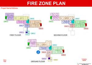 Emergency Exit Floor Plan Template fire plans original cad solutions