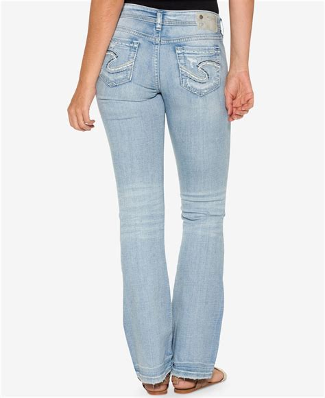 Furla Ripped Jumpsuit Light lyst silver co aiko ripped indigo wash bootcut
