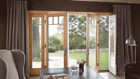 Patio Doors With Windows That Open Milgard Woodclad Doors Milgard Fiberglass Doors
